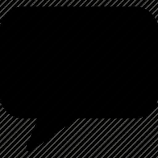 bubble, chat, message, speech, talk icon