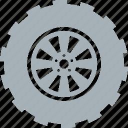 car, parts, tire, tires, wheel, wheels icon