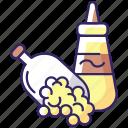 mustard, seeds, mustard icon, sauce icon
