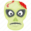 creepiest halloween, halloween character, horrible face, scary, terrifying halloween icon