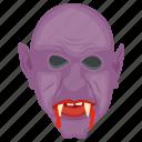 blood sucker, devil, dracula, halloween character, vampire icon