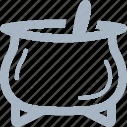 cauldron, furnace, halloween, pot icon