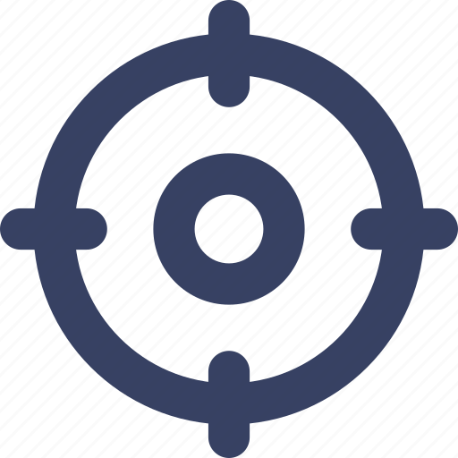 aim, mark, sport, target icon