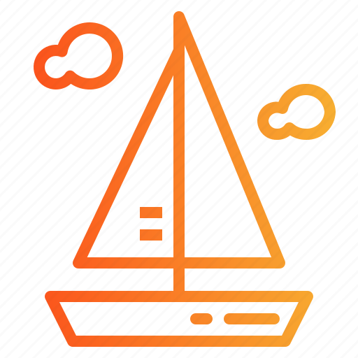 Boat, boats, sailboat, sailing icon - Download on Iconfinder