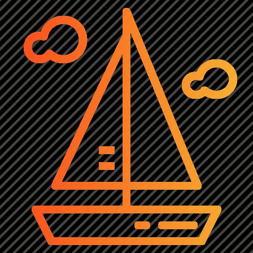 boat, boats, sailboat, sailing icon