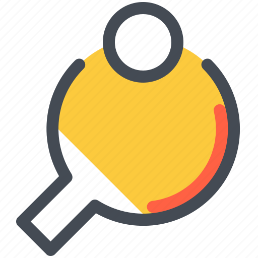 Ball, fittness, pingpong, racket, sport, table, tenis icon - Download on Iconfinder