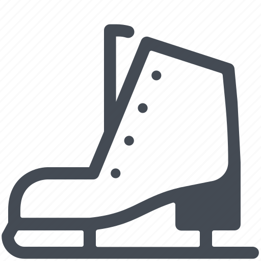 Figure, ice, shoes, skate, skating, sport, winter icon - Download on Iconfinder