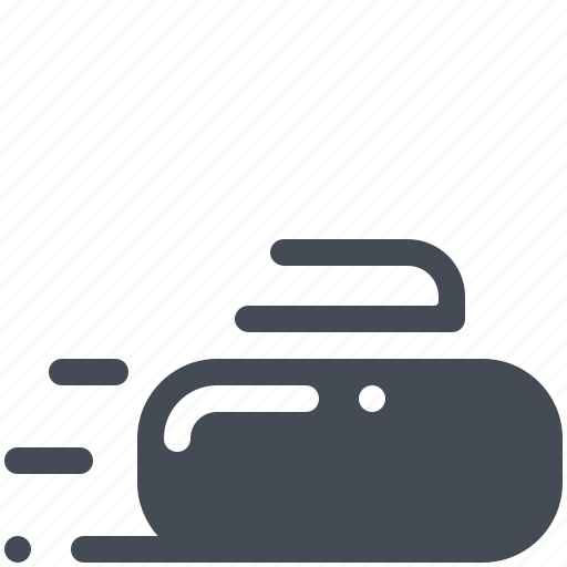 Curling, equipment, game, play, sport, stone icon - Download on Iconfinder