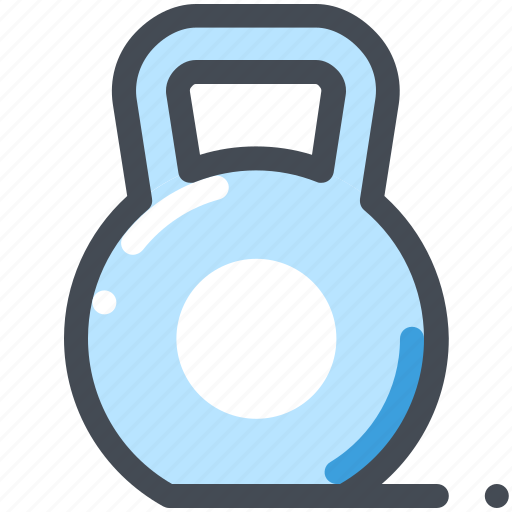Dumbbell, fitness, gym, kettlebell, sports, weight icon - Download on Iconfinder