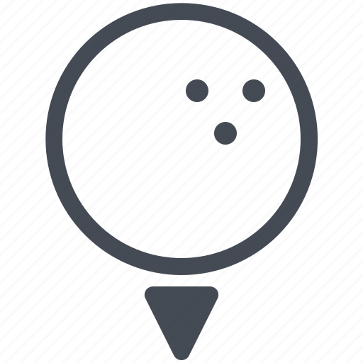Ball, club, competition, game, golf, hole, sport icon - Download on Iconfinder