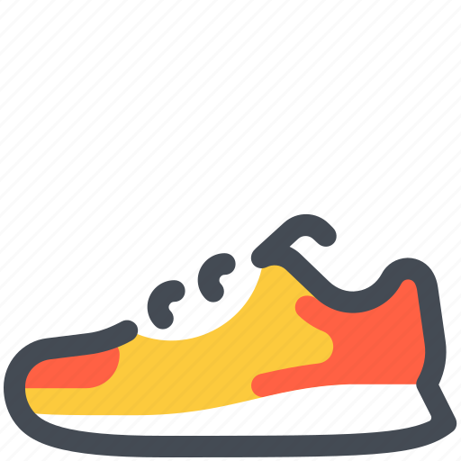 Fitness, marathon, run, running, shoes, sneaker, sport icon - Download on Iconfinder