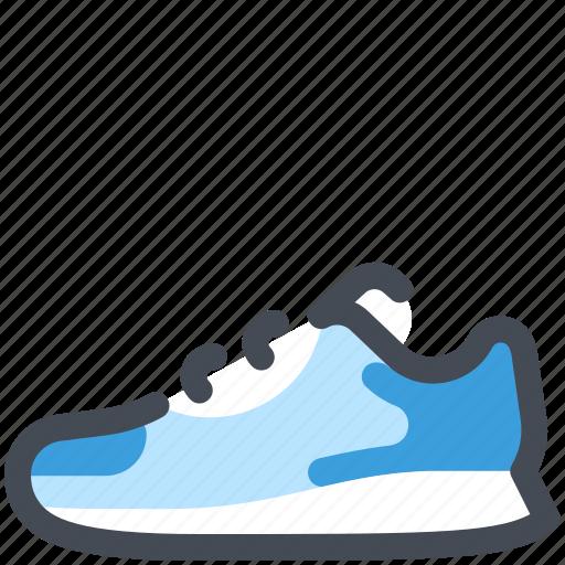 Fitness, marathon, run, running, shoes, sneaker, sport icon - Download on Iconfinder