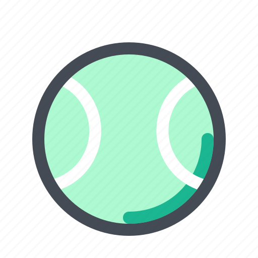 Ball, equipment, exercise, game, sport, sports, tennis icon - Download on Iconfinder