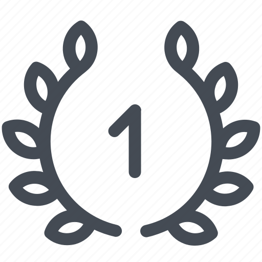 Award, first, medal, place, sport, winner, wreath icon - Download on Iconfinder
