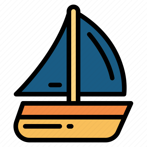 Boat, sailing, yacht, yachting icon - Download on Iconfinder