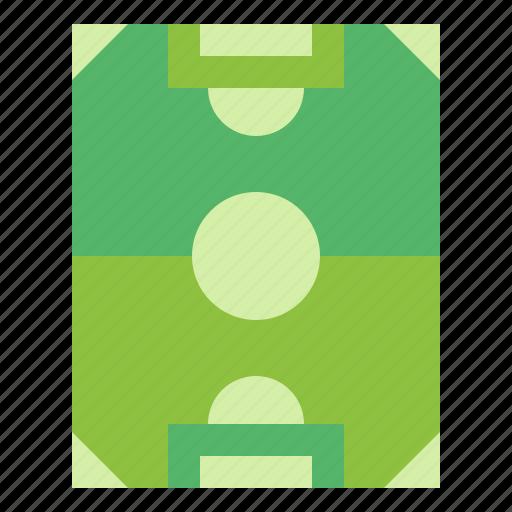 field, football, soccer, stadium icon