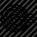 archery, board, dart, sport, target icon