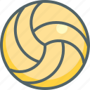 ball, volley, game, play, sport, sports