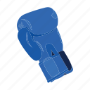 attribute, boxing, competition, equipment, glove, sport icon