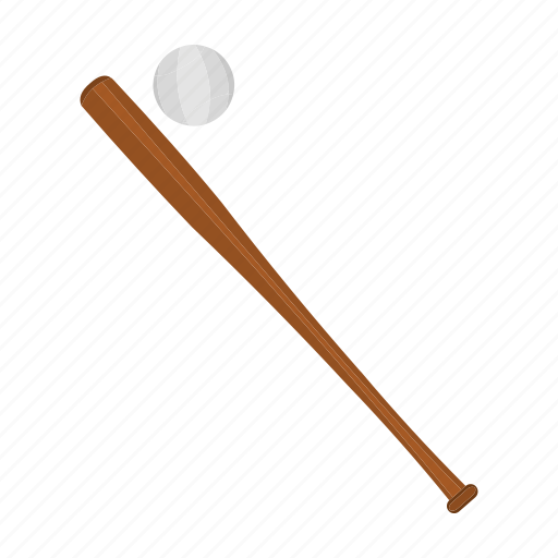 attribute, ball, baseball, bat, competition, equipment, sport icon
