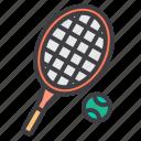 activity, health, hobby, sport, tennis icon