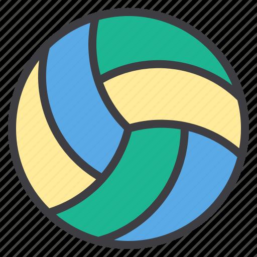 activity, health, hobby, sport, volleyball icon