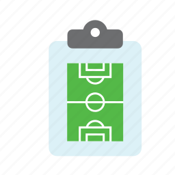 board, coach, field, football, soccer, sport, tactics icon