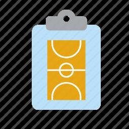 basketball, board, coach, court, sport, sports, tactics icon