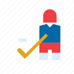hockey, ice, man, people, sport, sports, sportsman icon