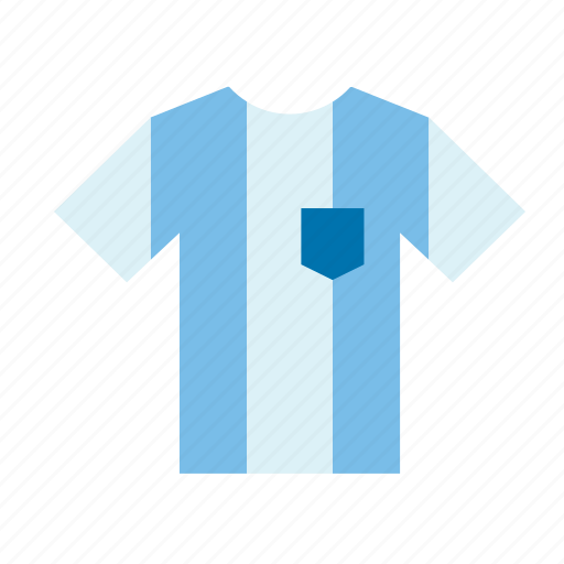 argentina, football, jersey, shirt, soccer, sport, team icon