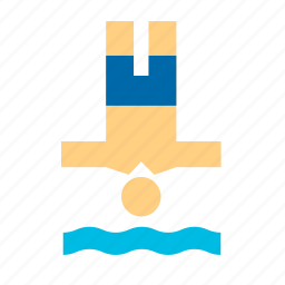 diving, olympic, olympics, pool, sport, sports, swimming icon
