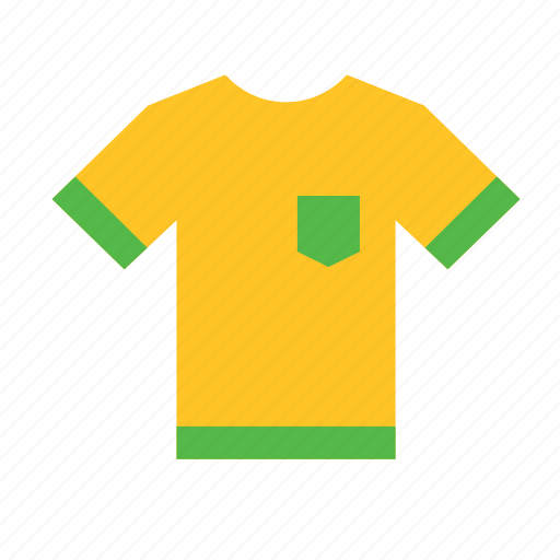 brazil, jersey, shirt, soccer, sport, sports, team icon