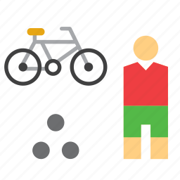 bike, olympic, olympics, sport, sports, sportsman, triathlon icon