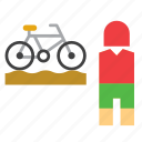 bike, bmx, cycling, olympic, olympics, sport, sportsman icon