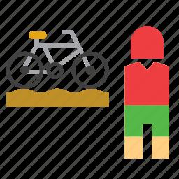 bike, bmx, cycling, olympic, olympics, sport, sportsman icon