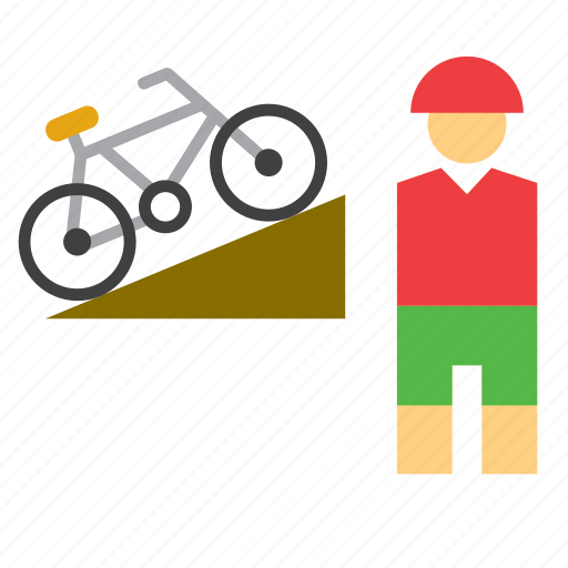 bicycle, bike, cycling, mountain, olympic, olympics, sport icon