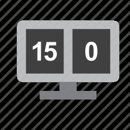 scoreboard, sport, sports, tennis icon