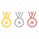 games, medal, medals, olympic, olympics, sport, winner icon