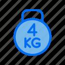 bodybuilding, fitness, gym, kettlebell