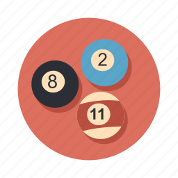 ball, balls, billiard, billiards, game, play, pool icon