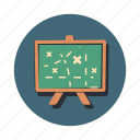 board, game, plan, presentation, strategy icon
