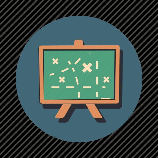 board, game, plan, presentation, strategy icon