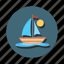 sail, boat, boating, sailing, ship