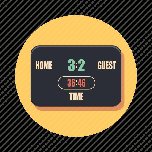 board, info, information, score, signboard icon
