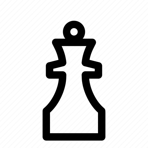 chess, figure, game, piece, queen, sport, strategy icon