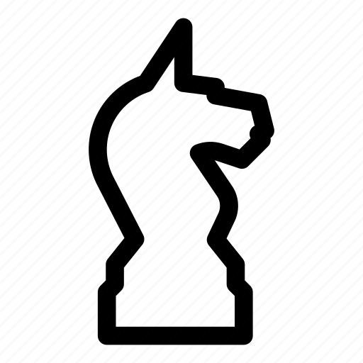 chess, figure, game, knight, piece, sport, strategy icon