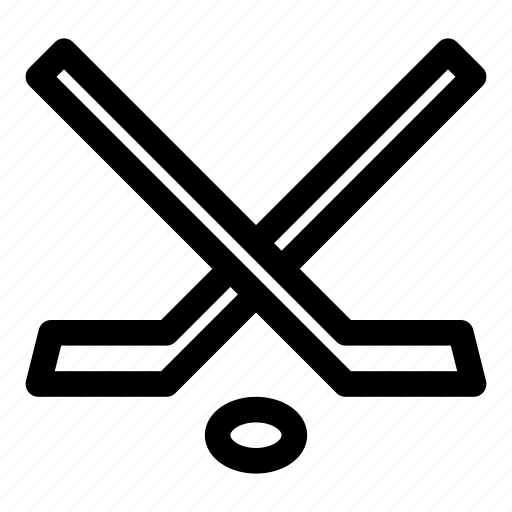 game, hockey, sport, stick, sticks icon
