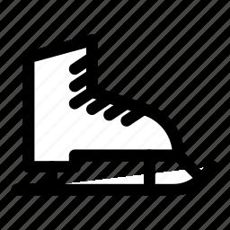 game, hockey, skates, skating, sport icon