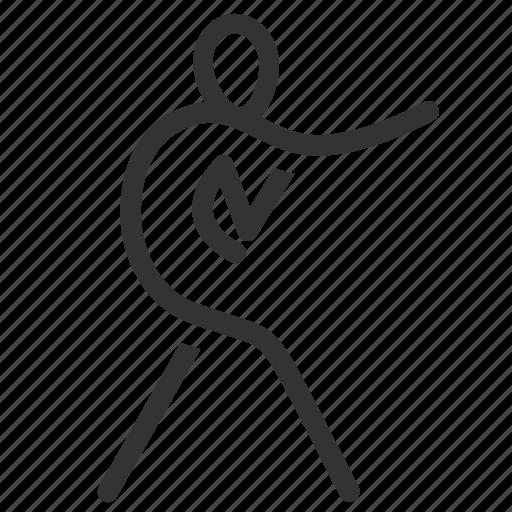 body combat, boxer, boxing, fight, fitness, martial arts, sport icon