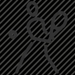 grand slam, sport, squash, tennis, tennis court, tennis player icon
